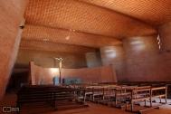 Iglesa Cristo Obrero y Nuestra Señora de Lourdes, Ing. Dieste, E. Atlántida, 1960. Foto de Silvia Montero, 2006
