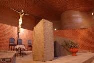 Iglesa Cristo Obrero y Nuestra Señora de Lourdes, Ing. Dieste, E. Atlántida, 1960. Foto de Rodolfo Marínez, 2006