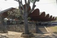 Terminal Municipal de Omnibus Salto, Ing DIESTE Eladio, proyecto de Arq. Minutti, Néstor. 1973-1974. Salto, Uy. Foto Silvia Montero 2006