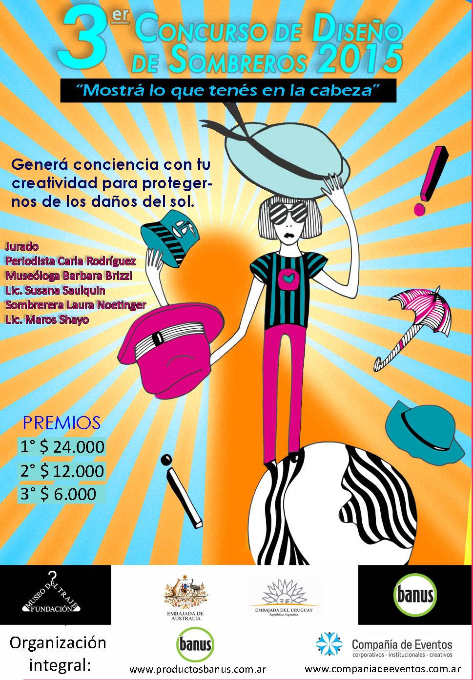 Concurso de dise o de sombreros escuela universitaria - Escuela universitaria de diseno ...