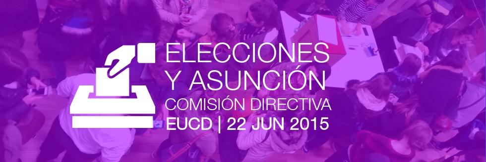 Elecciones y asunción de representantes de la Comisión Directiva provisoria