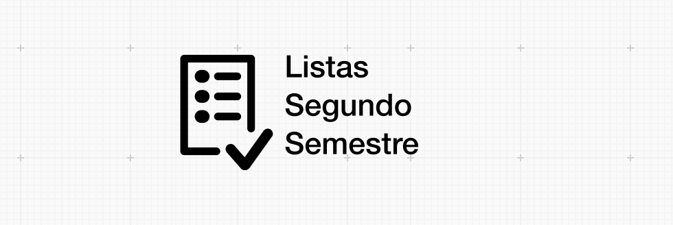 Listas 2do semestre 2015