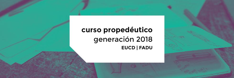 Curso Propedéutico Nivelador 2018