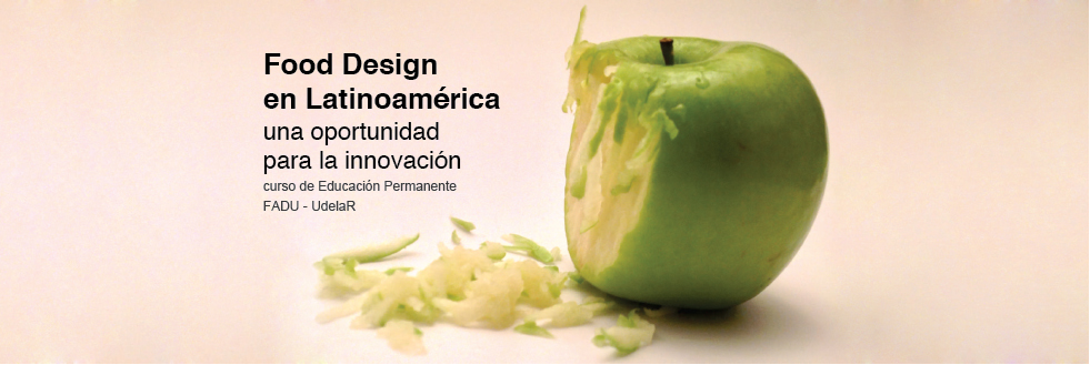 Curso Educación Permanente | Food Design en Latinoamérica