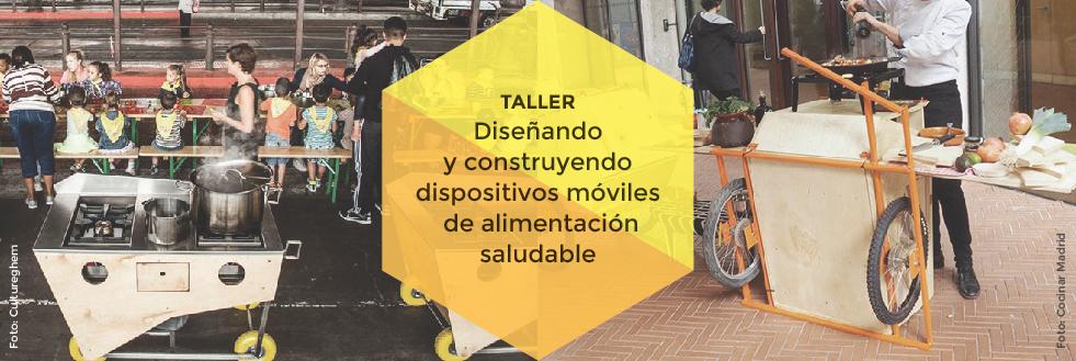 Convocatoria | Taller: Diseñando y construyendo dispositivos móviles de alimentación saludable