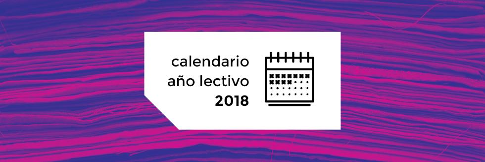 Calendario Año Lectivo 2018