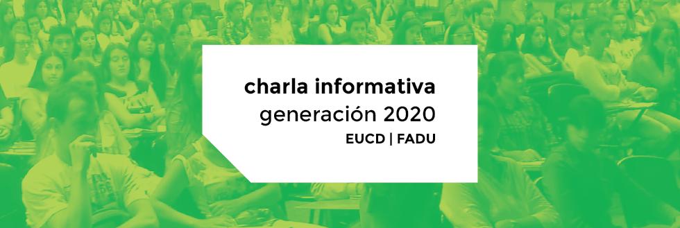 Charla informativa Generación 2020