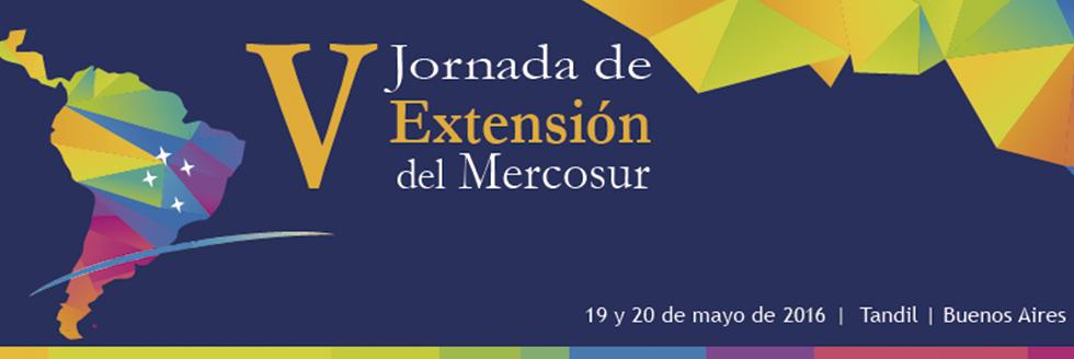 V Jornadas de Extensión del Mercosur en Tandil