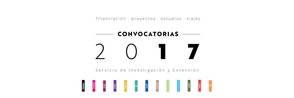 CONVOCATORIAS 2017