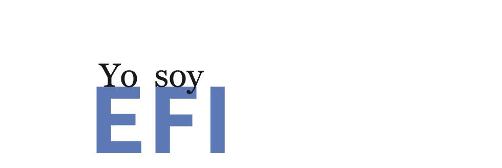 YO SOY EFI. Convocatoria de auto-identificación como Espacios de Formación Integral 2018