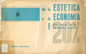 De la estetica a la economia I