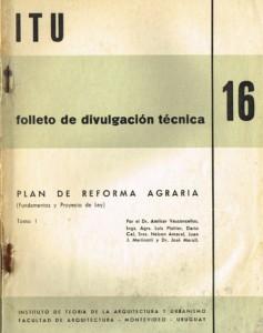 Folleto Divulgacion Tecnica 16 [reforma agraria]