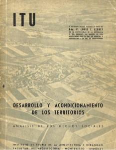 Lebret - Desarrollo y acondicionamiento de los territorios