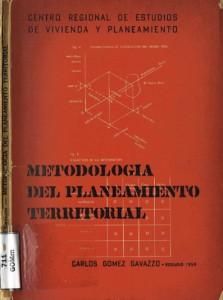 Metodologia del planeamiento territorial