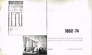 Relatorio sintético ITU 1952-1974
