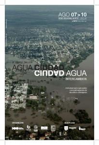 afiche agua ciudad 2015