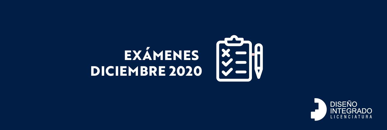 Exámenes Diciembre 2020