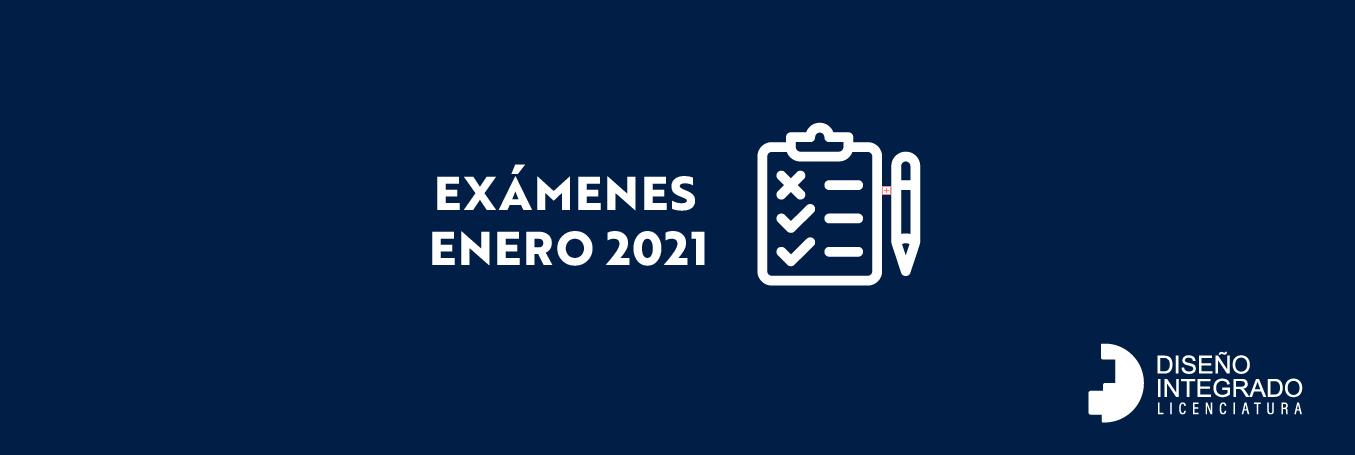 Exámenes ENERO 2021