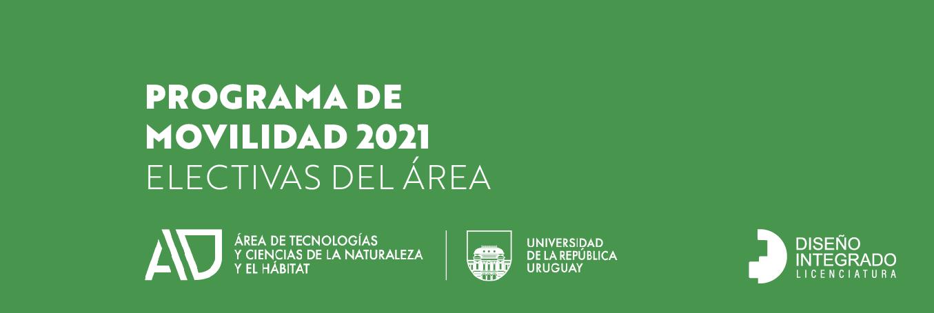 Programa de movilidad 2021 – Electivas del área