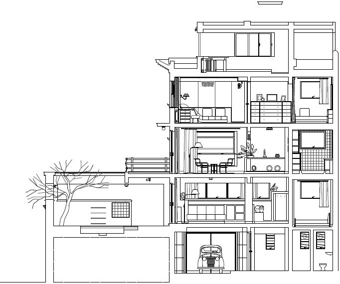 La casa vilamaj museo casa vilamaj for Arquitectura nota de corte