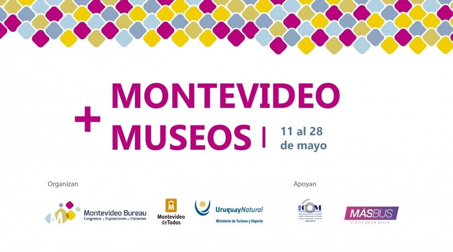 logo montevideo + museos