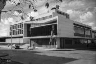 Liceo No 2 Hector Miranda, arqs. ACOSTA E., BRUM H., CARERI C., STRATTA A., 1956, Montevideo, Foto: Archivo SMA- digitalizac. Danae Latchinian 2014