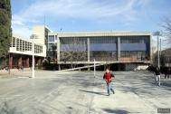 Liceo No 2 Hector Miranda, arqs. ACOSTA E., BRUM H., CARERI C., STRATTA A., 1956, Montevideo, Foto: Tano Marcovecchio 2007