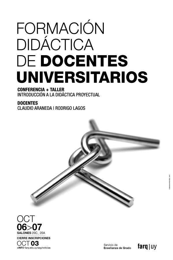 afiche formación didáctica