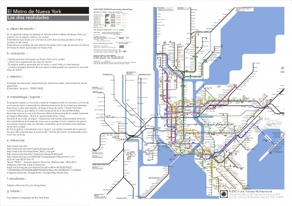 03_ Federico Maiorano & Lucia Sanguiñedo - El Metro de Nueva York - A