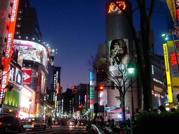 Tokio. Cruce de Shibuya. Foto: bit.ly/1vivjsv