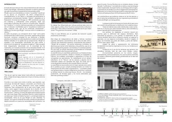 13_ Diego Solís & Valentina Moreira - Frank Lloyd Wright - Tres casas tres épocas - B