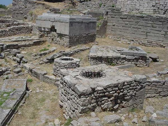 Ruinas de la ciudad de Troya. Foto: Fernando García Amen