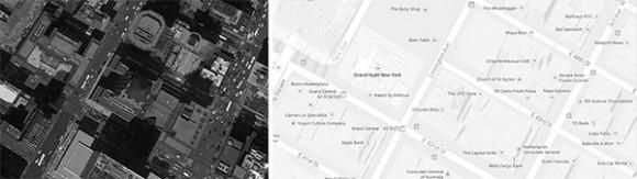 Fig 00:Avenida Lexington y las calles Este 42 y 43, Nueva York, Estados Unidos.40°45'05''N 73°58'33'' O