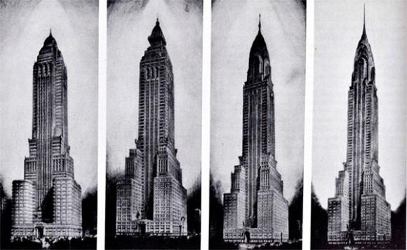 Evolución del diseño del Chrysler Building