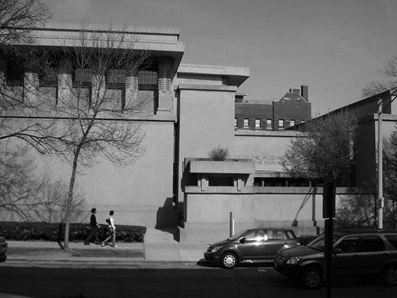 04. Oak Park. Templo Unitario. Frank Lloyd Wright. Foto: Adriana Bobadilla