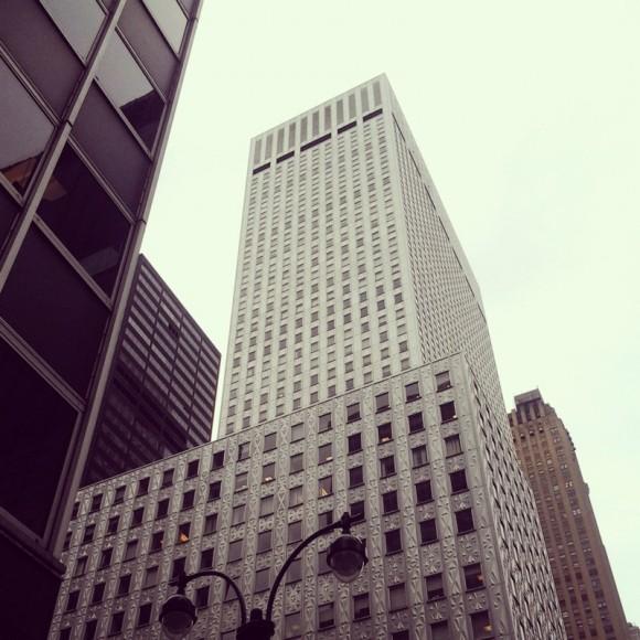 02. Nueva York. Socony-Mobil Building. Foto: Pablo Canén.