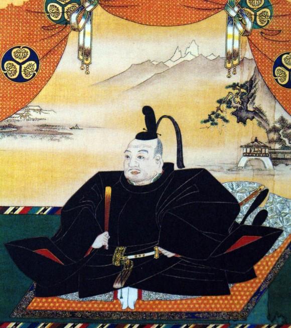 Ieyasu Tokugawa, el primer shogun Tokugawa, Wikipedia en español - Período Edo, Autor: Kanō Tan'yū