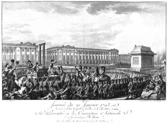 06. Mondhare et Jean. 1790. Plaza Luis XV hacia 1790. www.oldmapsonline.org
