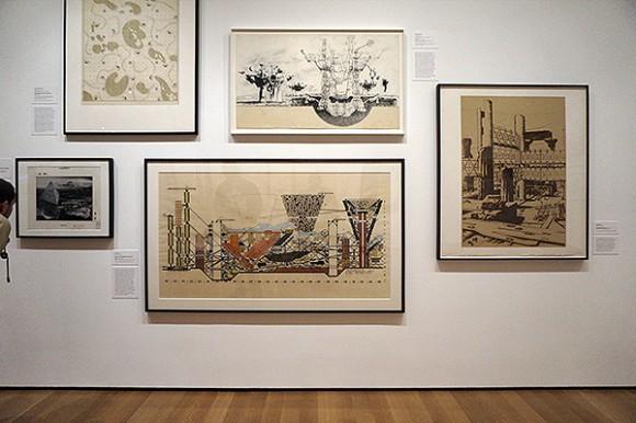 Exposición de dibujos de Arquitectura - Archigram y el metabolismo japonés