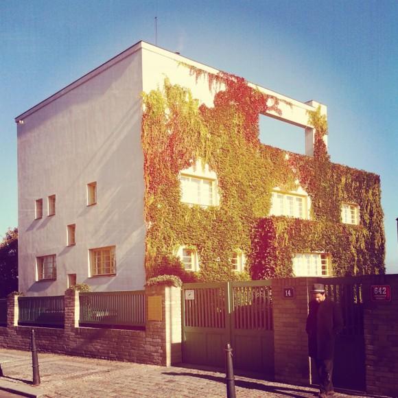 Exterior Villa Müller. Fotografía: Pablo Canén