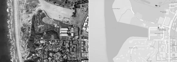 """La Jolla, California, 10010 North Torrey Pines Road. Coordenadas: 32° 53' 13"""" , 117° 14' 46"""" O"""