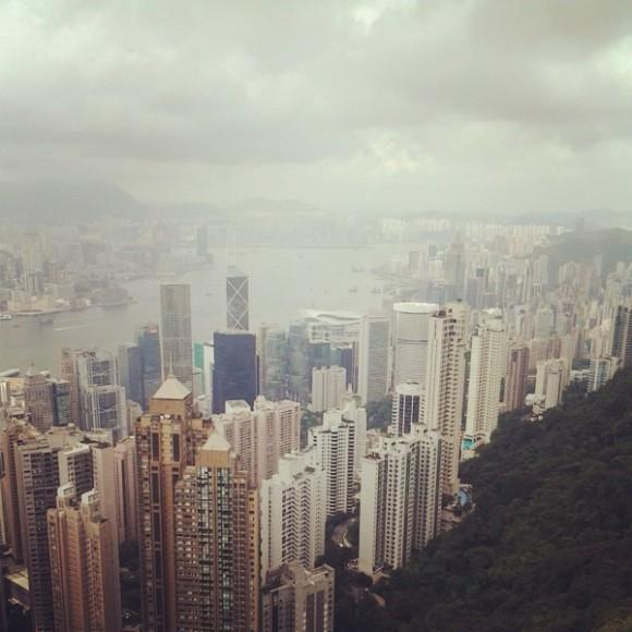 04. Hong Kong. Desde el pico Victoria. Foto: Pablo Canén.