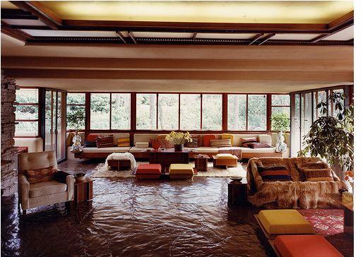 Interior. Living en planta principal
