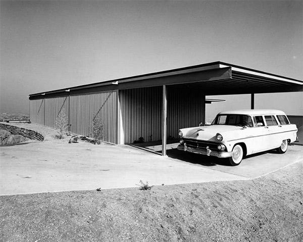 Casa Stahl, Los Ángeles. 1960 Pierre Koenig