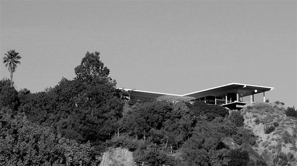 Casa Stahl, vista desde el valle