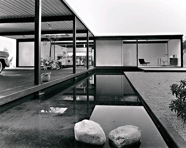 Study house 21, Los Ángeles. 1960 Pierre Koenig