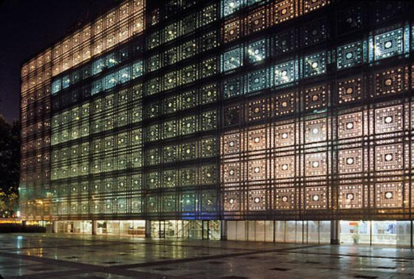 FRA, Frankreich, Paris, Institut du Monde Arabe, Architekt: Jean Nouvel 1988 | FRA, France, Paris, Institut du Monde Arabe, architect: Jean Nouvel 1988