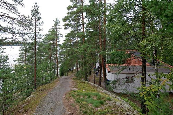 Foto del acceso actual a la vivienda