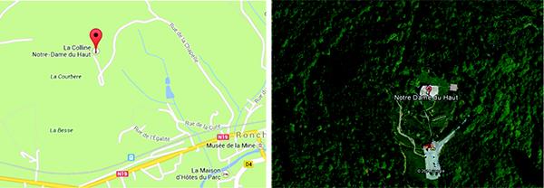 Ronchamp, Francia _ 13 Rue de la Chapelle 70250 _ 47° 42´ 14´´ N 6° 37´ 16´´ E