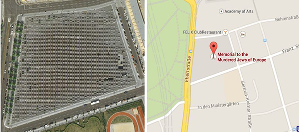 Ubicación: Berlin, Alemania. Cora-Berliner-Straße 1, 10117. Coordenadas: 52o 30' 50'' N, 13o 22' 43'' E